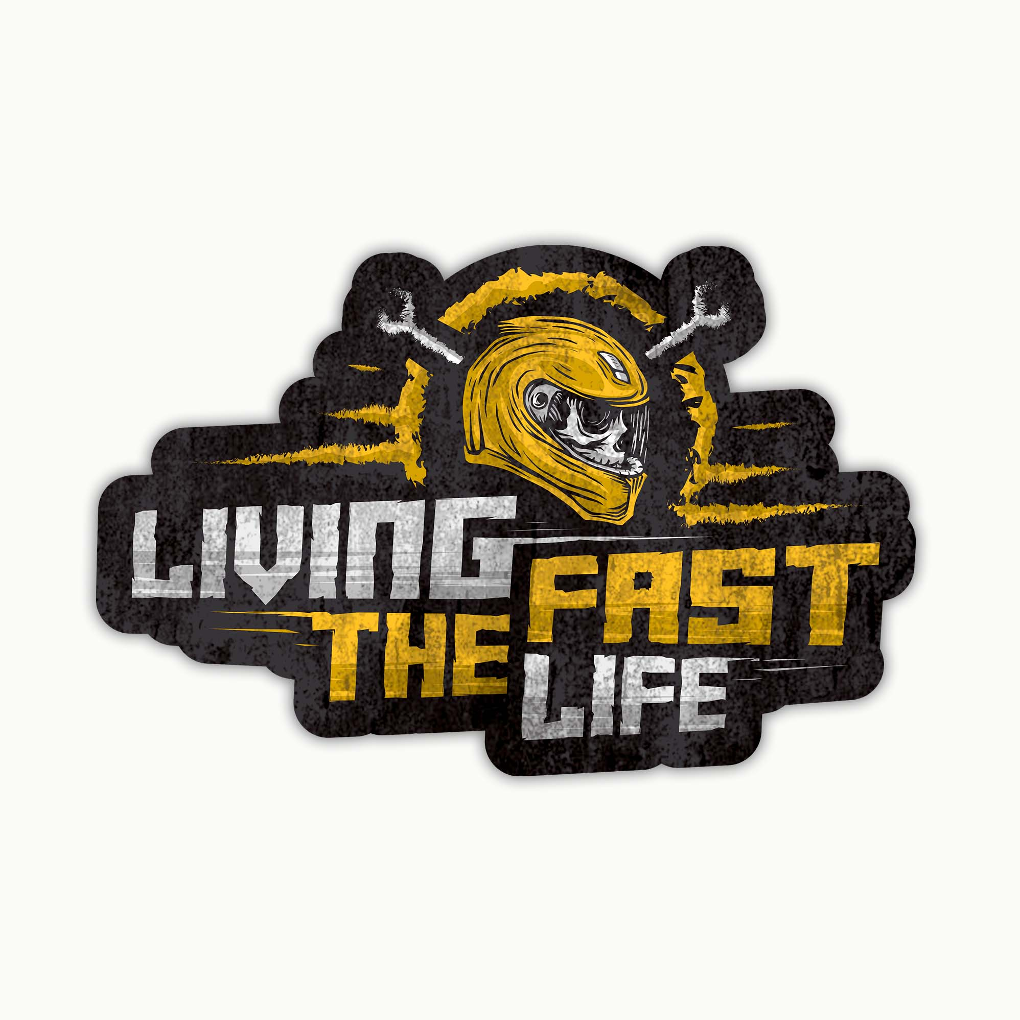 Living The Fast Life | Sticker