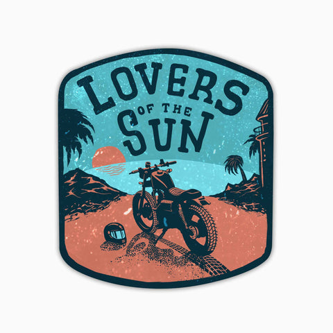 Lovers Of The Sun | Sticker