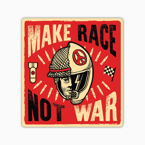 Make Race Not War | Sticker(CAR)