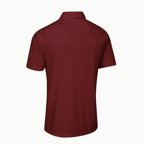 Solid Maroon | Polo T-Shirt