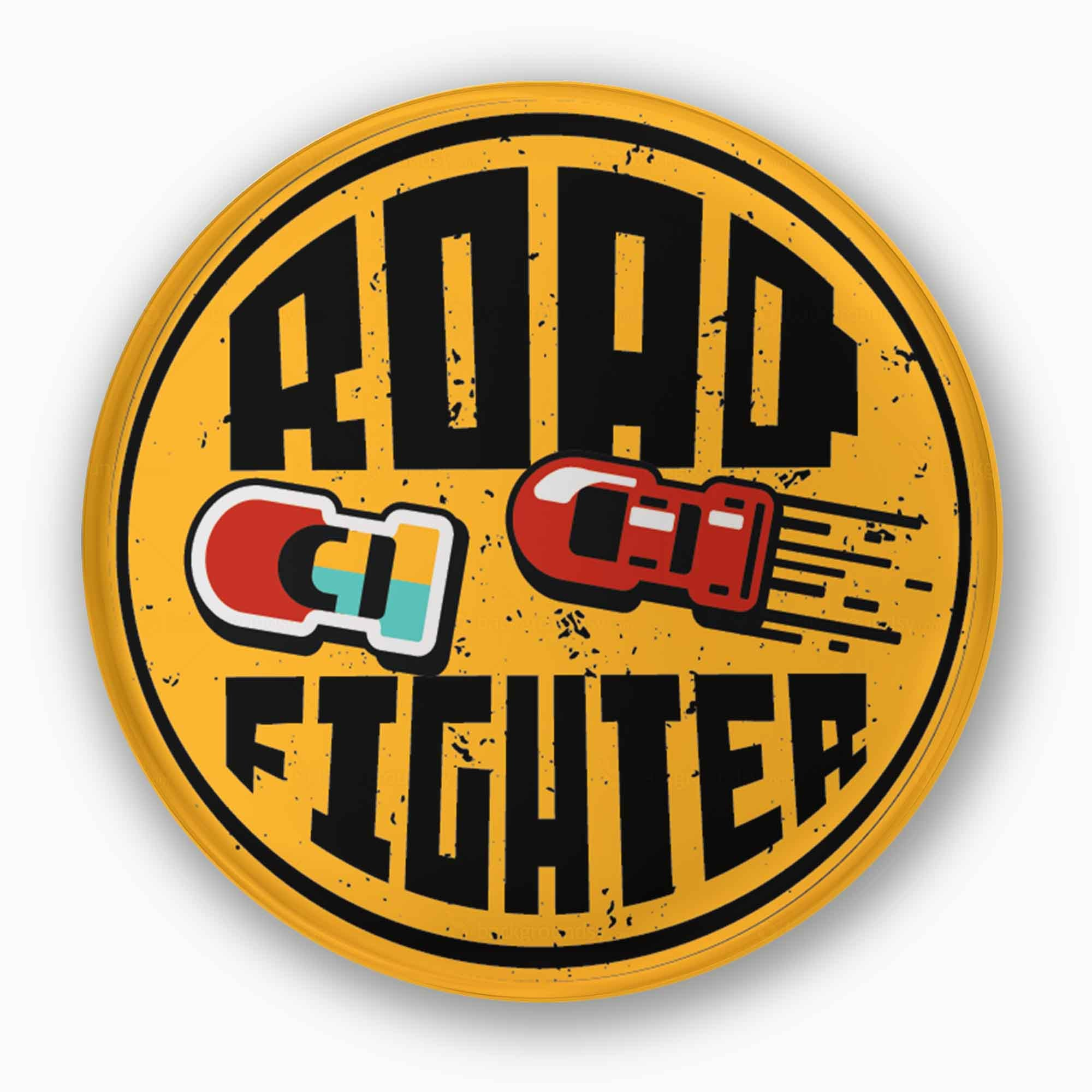 Road Fighter | Badge