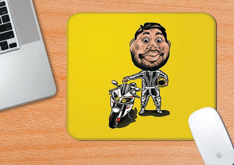 Biker Harsha | Mouse pad