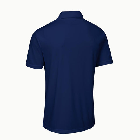 Solid Navy Blue | Polo T-Shirt