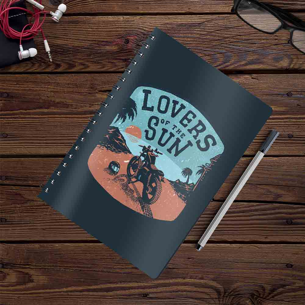 Lovers of the Sun | Notebook