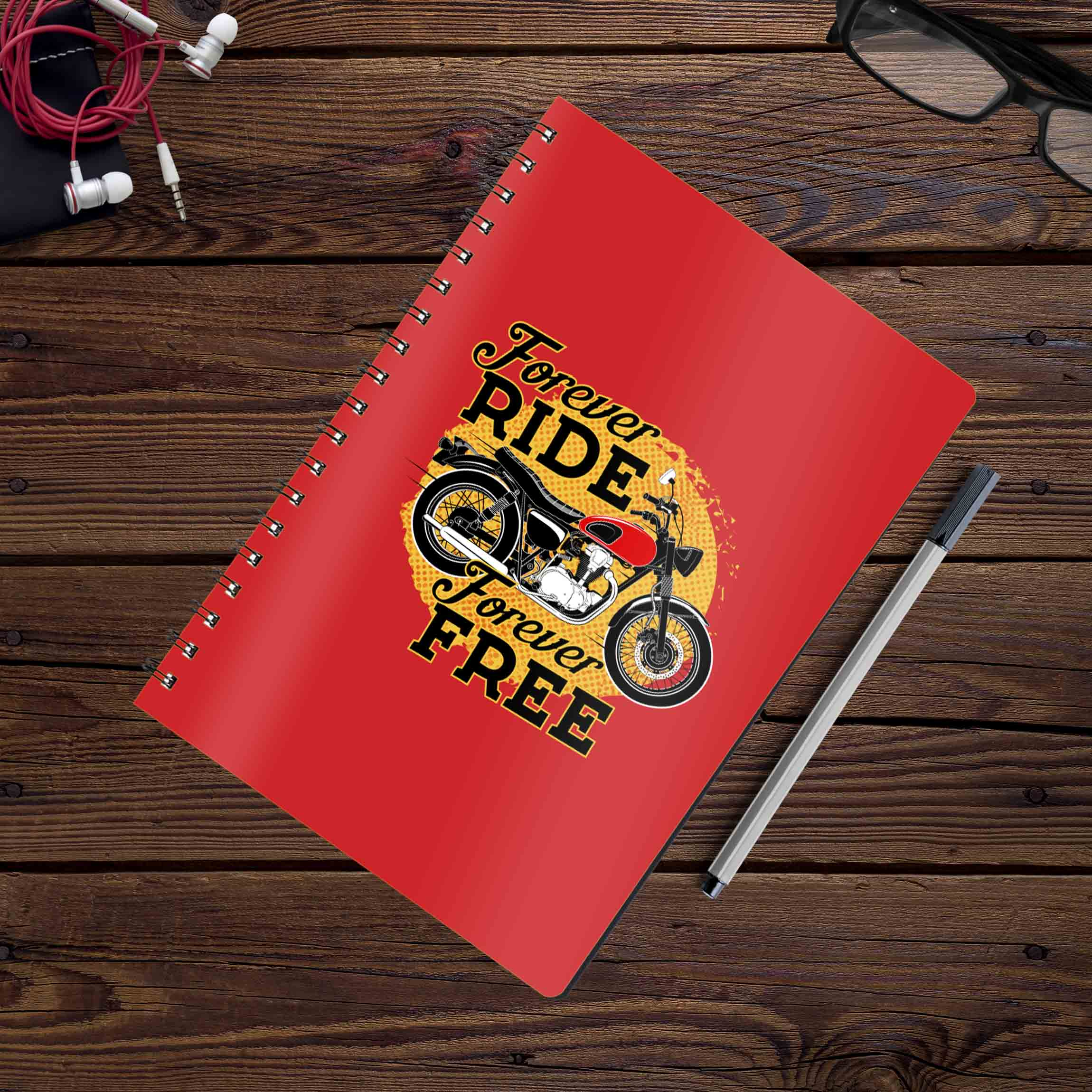 Forever Ride Forever Free | Notebook