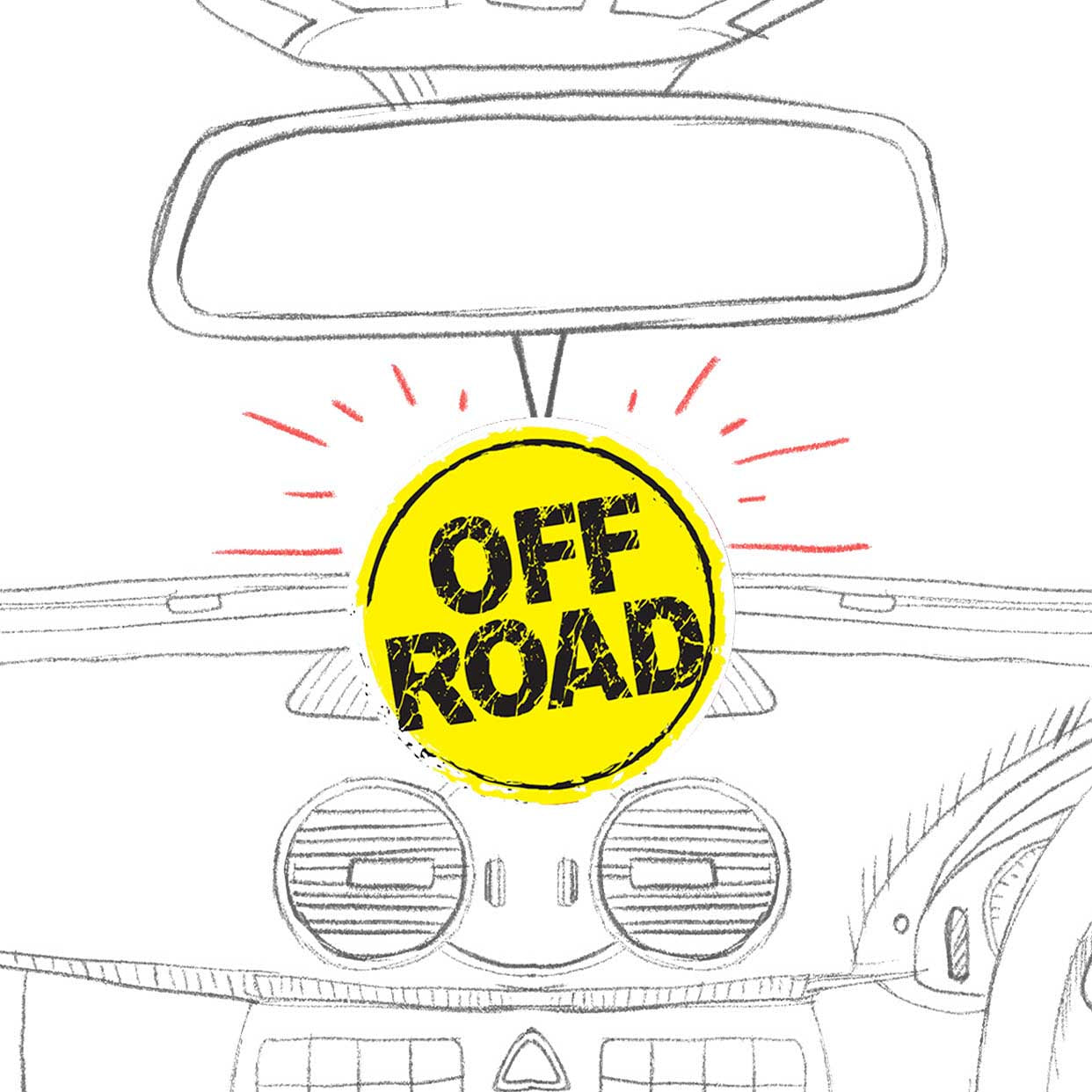 Off Road | Air Freshener