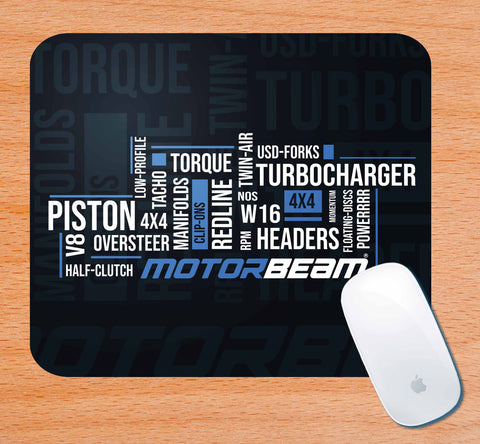 MotorBeam-Classic | Mouse Pad