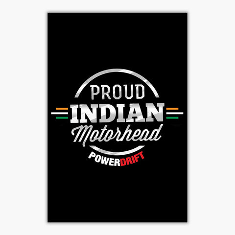 Powerdrift-Proud Indian Motorhead | Poster