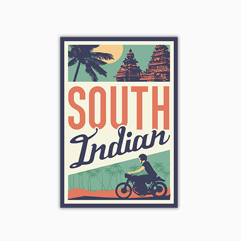 South Indian  | Sticker