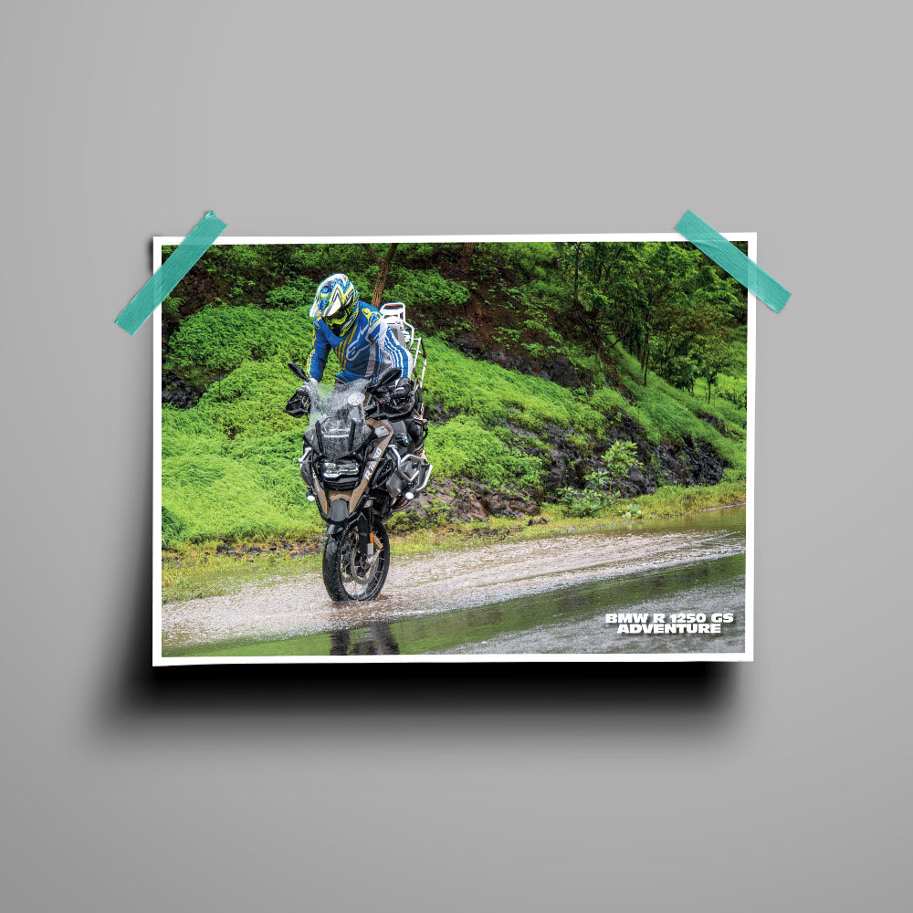 Fast Bikes India-BMW-R-1250GS-STOPPIE (Limited Edition) | Poster