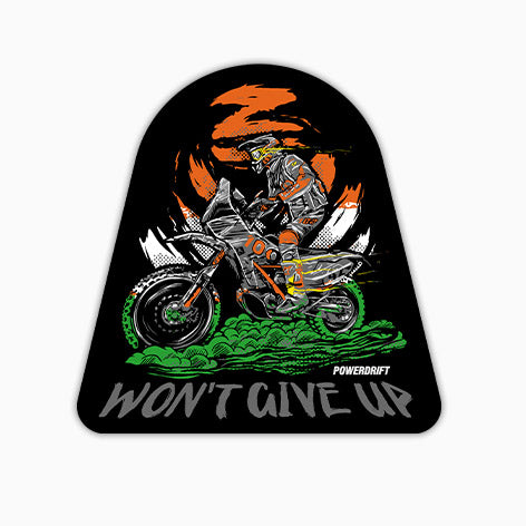 PowerDrift-Won'T Give Up | T-Shirt