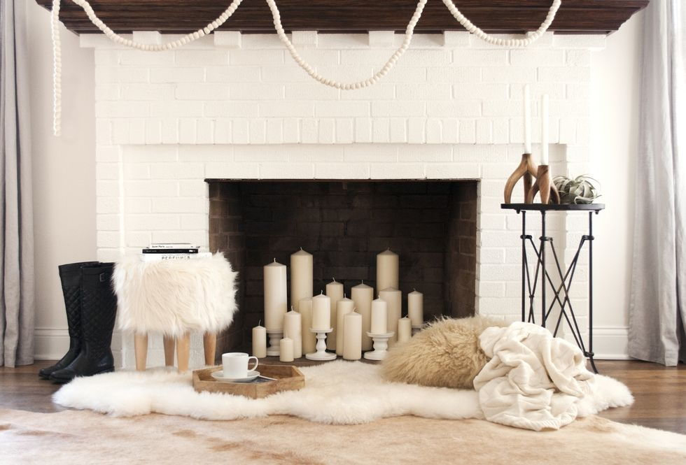 BEYOND THE TREE: FIVE WAYS TO A FESTIVE FIREPLACE