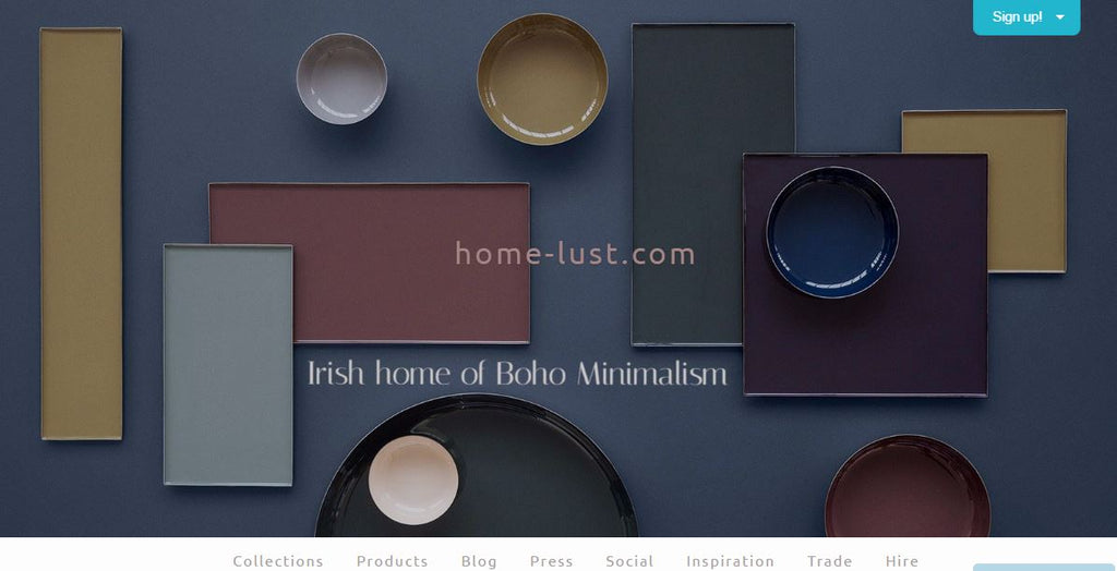 Introducing home-lust.com - Scandinavian design eclectic decor and fairtrade products online store