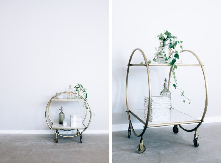 Interiors Inspiration: How To Style A Barcart