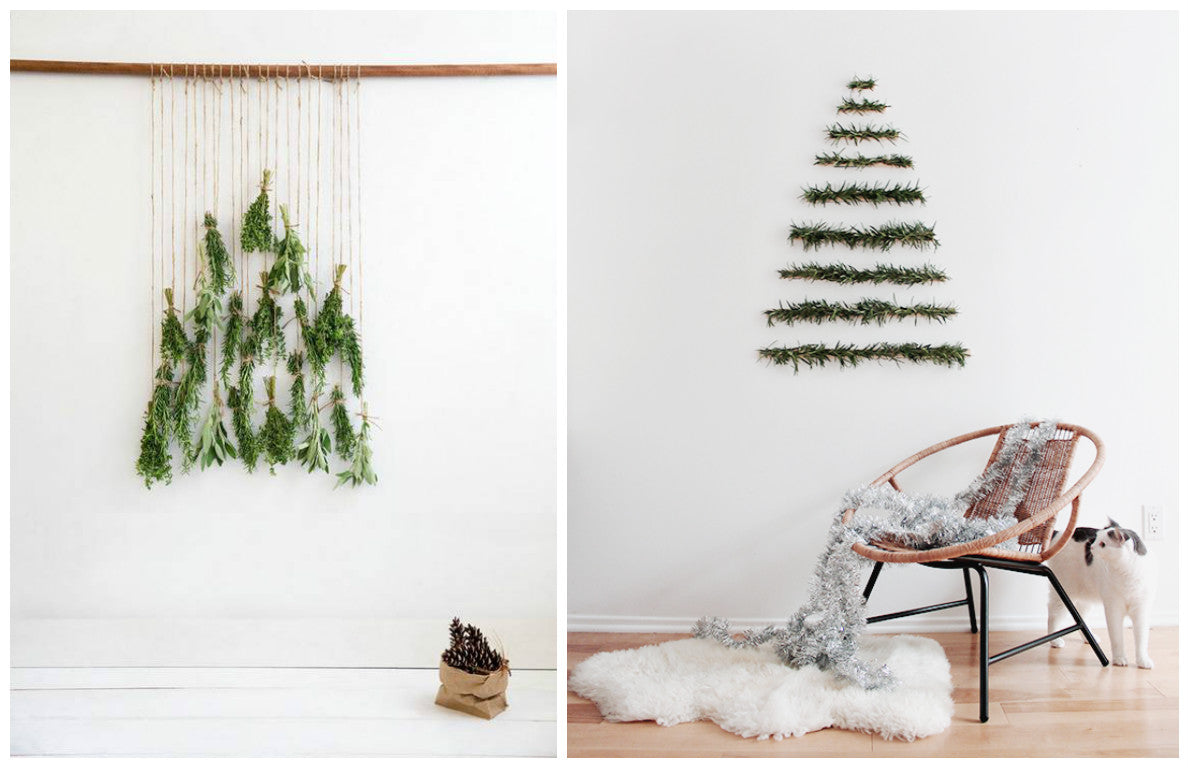Christmas Inspiration: Alternative Christmas Tree