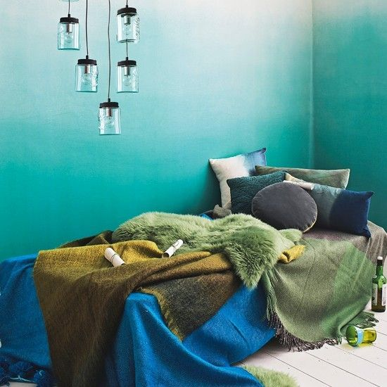 Interiors Inspiration: How To Work Green Into Your Home Decor