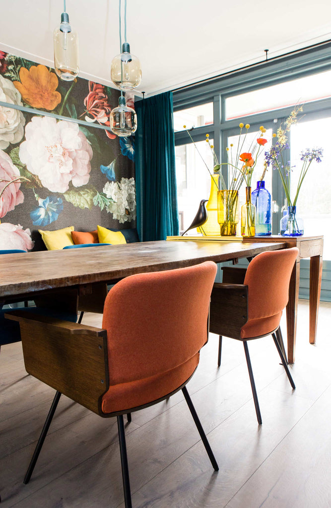 House Tour: A Mesmerising Colour-Filled Retro Apartment in Rotterdam