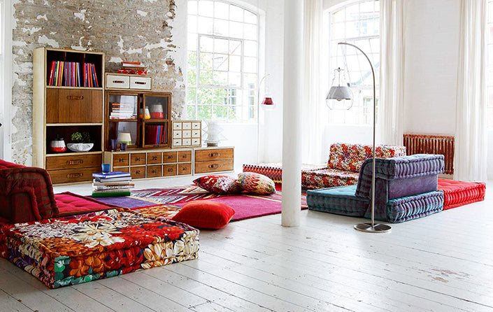 Interiors Ispiration: Contemporary Bohemian Chic