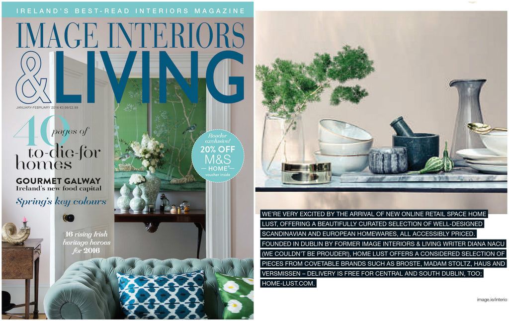 IMAGE Interiors Living Magazine Ireland Jan Feb 2016