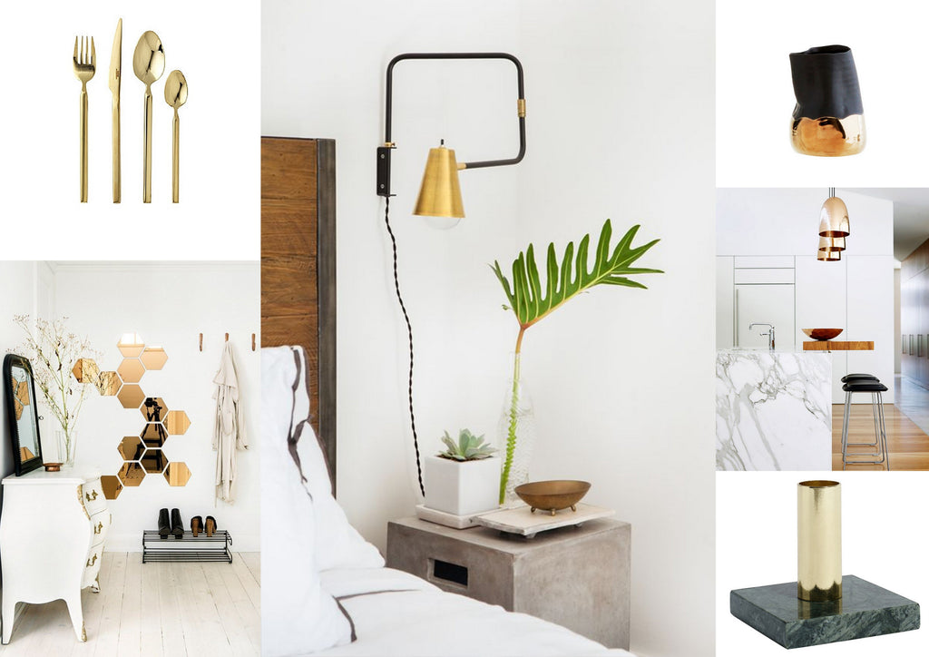 Interiors Inspiration: Golden Opportunities