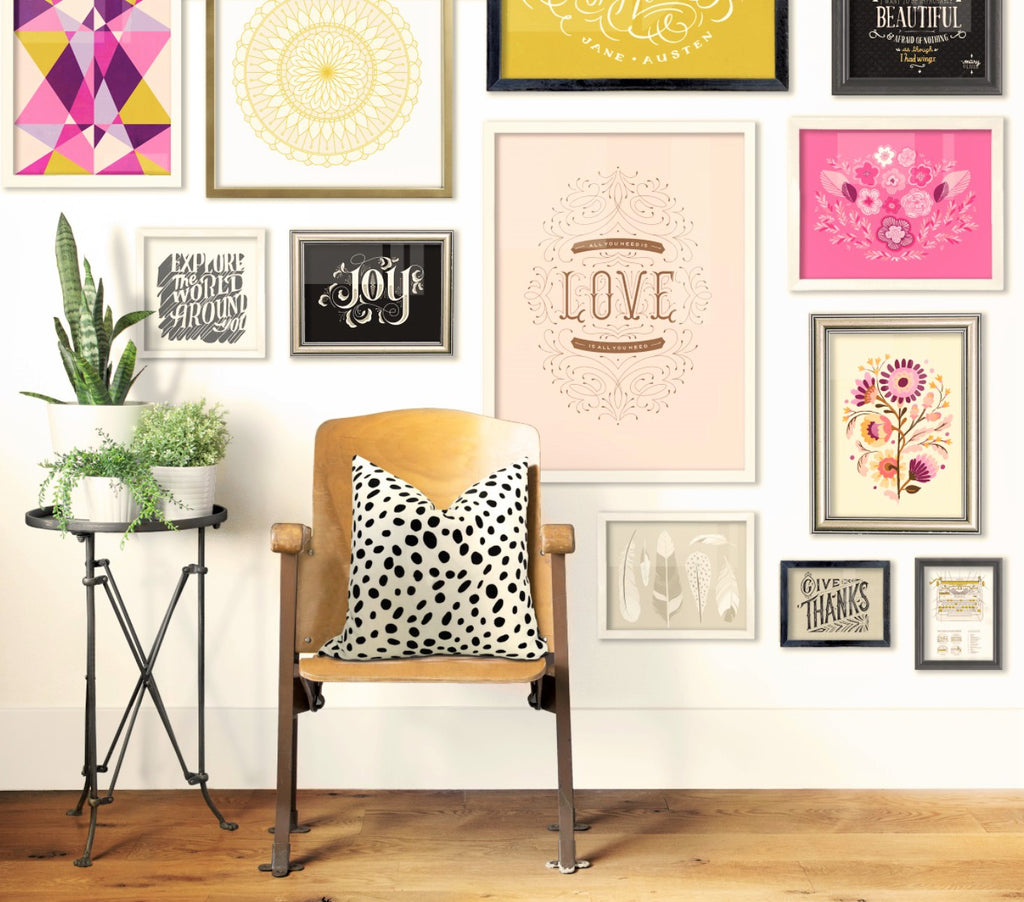 Interiors Inspiration: How To Decorate Your Home with Geometric Accessories and Prints