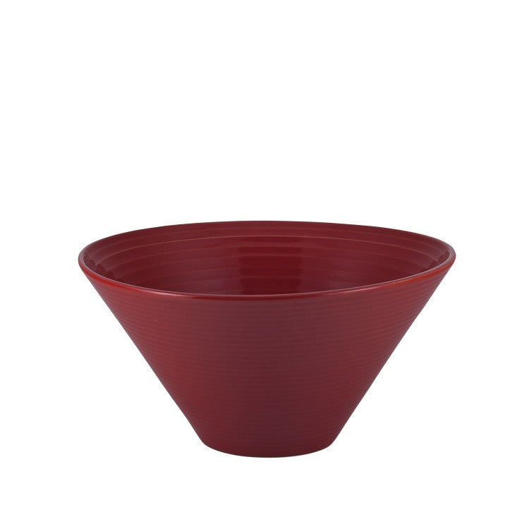 Set of large ramen bowls (red)-Ireland