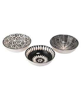 Monochrome design ceramic bowls-Ireland