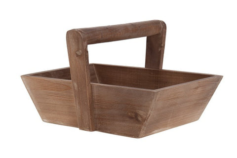 Solid wood basket-Ireland