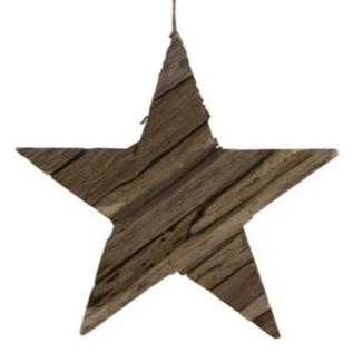 Large reclaimed driftwood Christmas star-Ireland