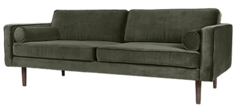 Velvet sofa (various colours)-Ireland