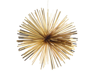 Tinsel star hanging decoration-Ireland