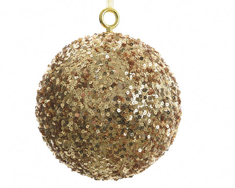 Oversized sequined Christmas ball-Ireland