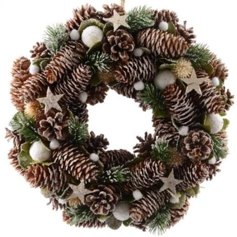 Pinecone wreath-Ireland