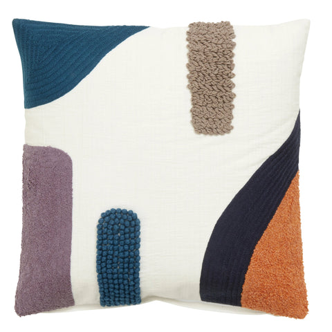 Textured artful cushion-Ireland