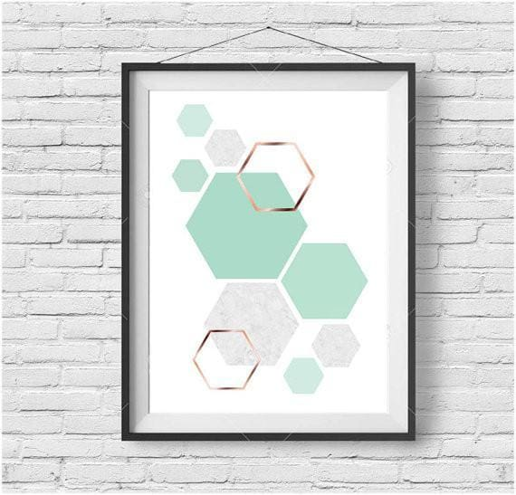 Geometric and Midcentury Art Prints-Ireland