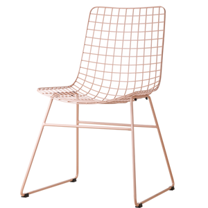 Metal wire chairs-Ireland