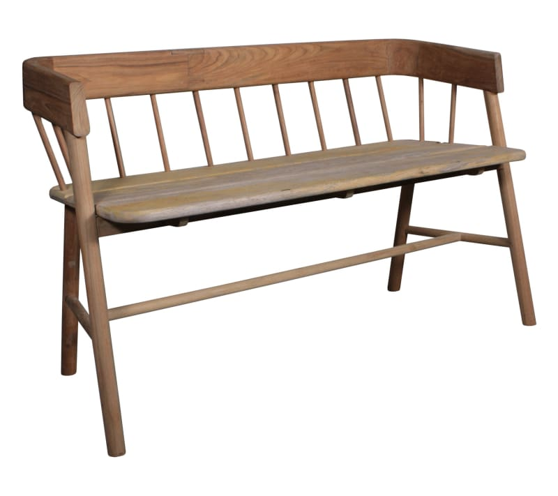 Natural teak bench-Ireland