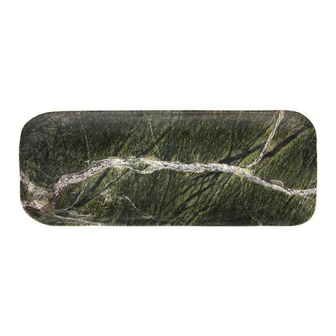 Rectangular veined green marble tray-Ireland