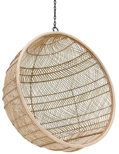 Round rattan hanging chairs-Ireland