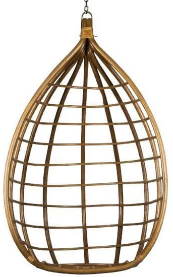 Teardrop rattan hanging chair-Ireland