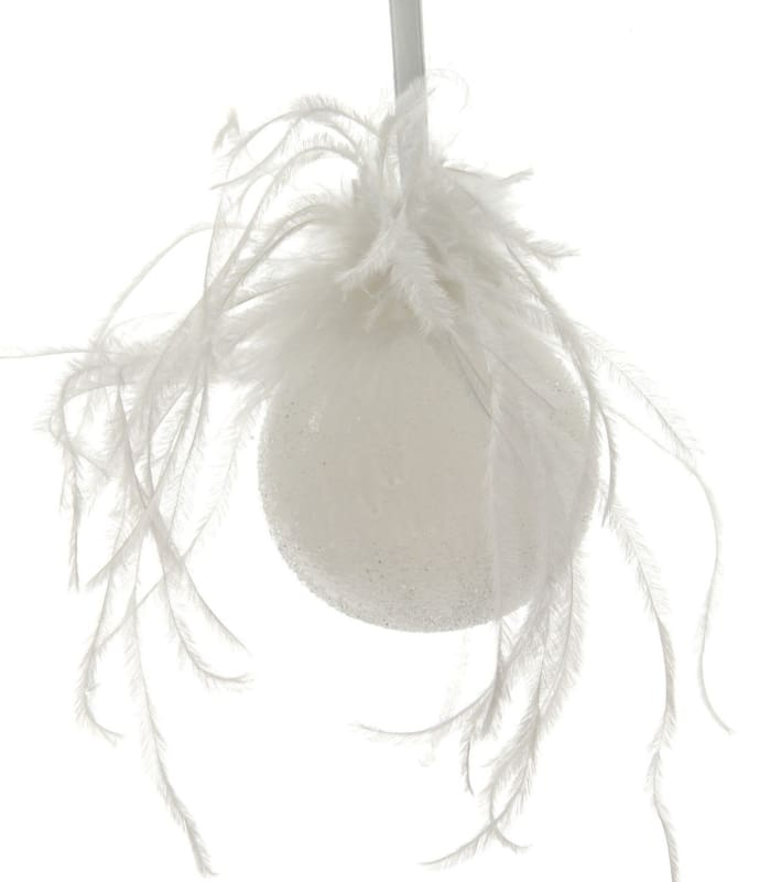 White feather bauble-Ireland