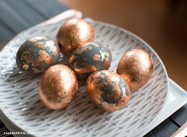 Interiors Inspiration: Easter Trees and Decorative Eggs