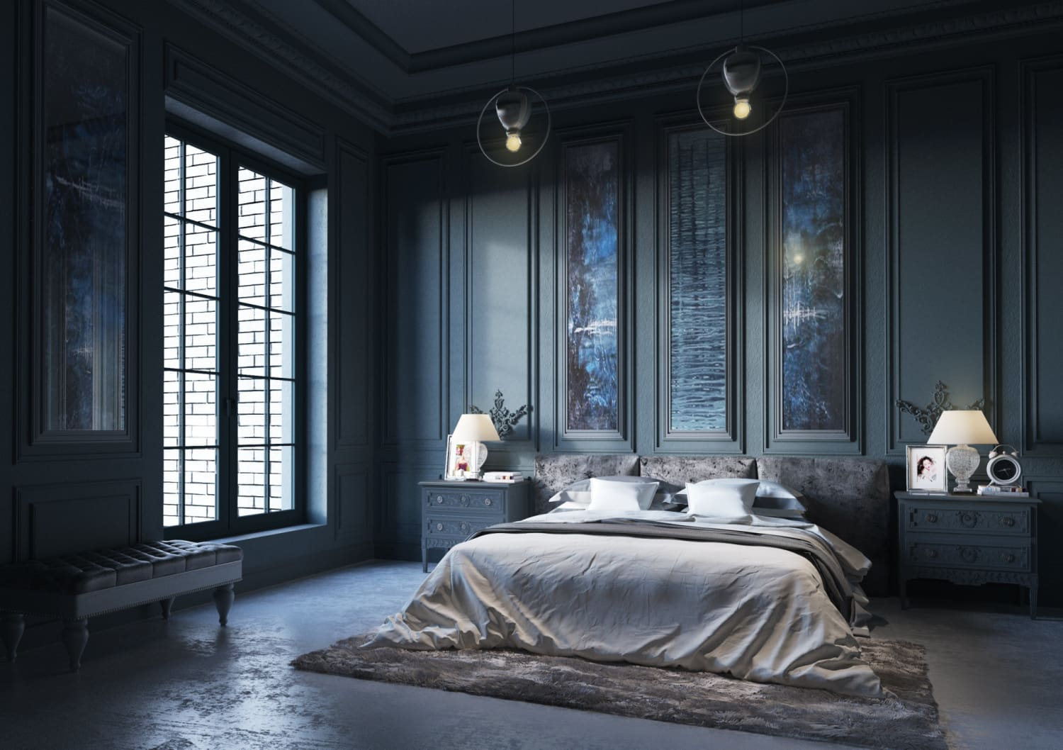 INTERIORS INSPIRATION: Seductive sleeping spaces