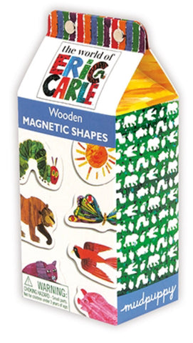 Eric Carle Shapes Wooden Magnetic Set