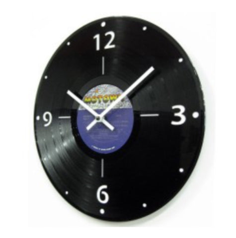 LP Record Clock