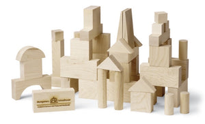 Local Maple Building Blocks - 41 pc set
