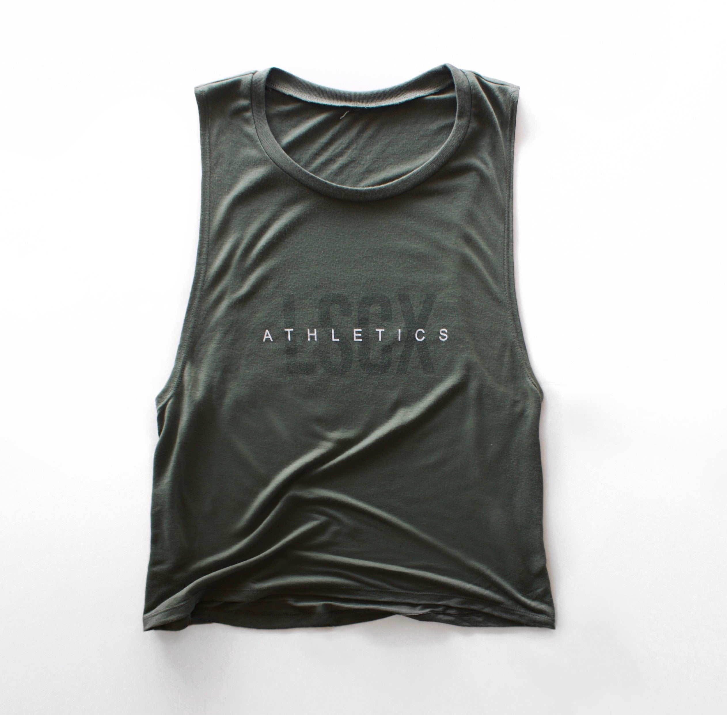 Muscle Tank Olive