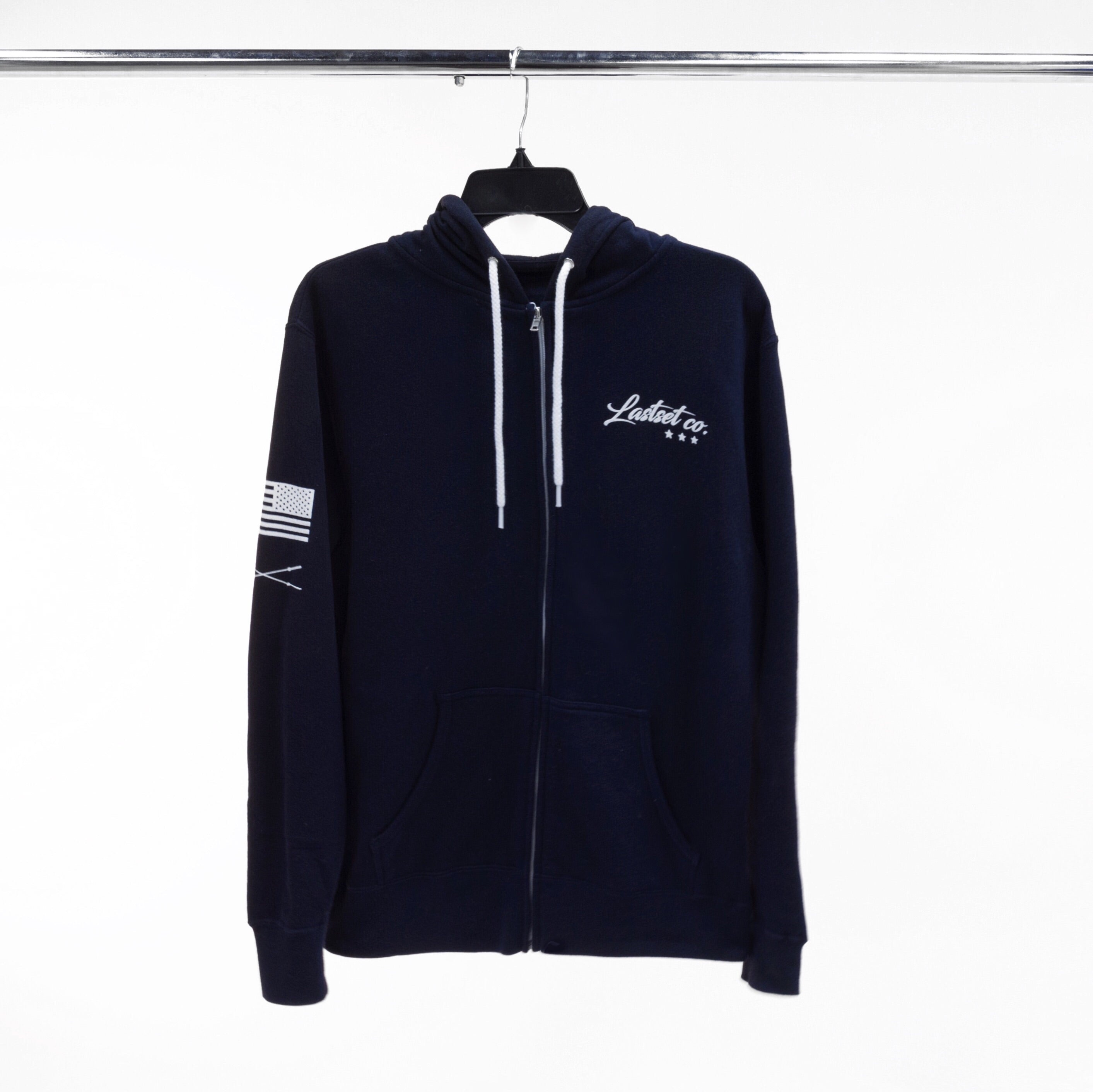 Premier zip up hoodie Midnight Navy