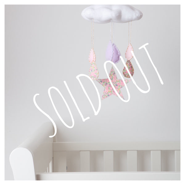 Liberty Print Cloud Cot Mobiles