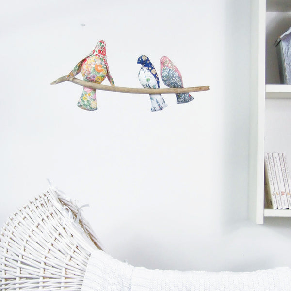 Liberty Print 'Together' Bird Cot Mobile